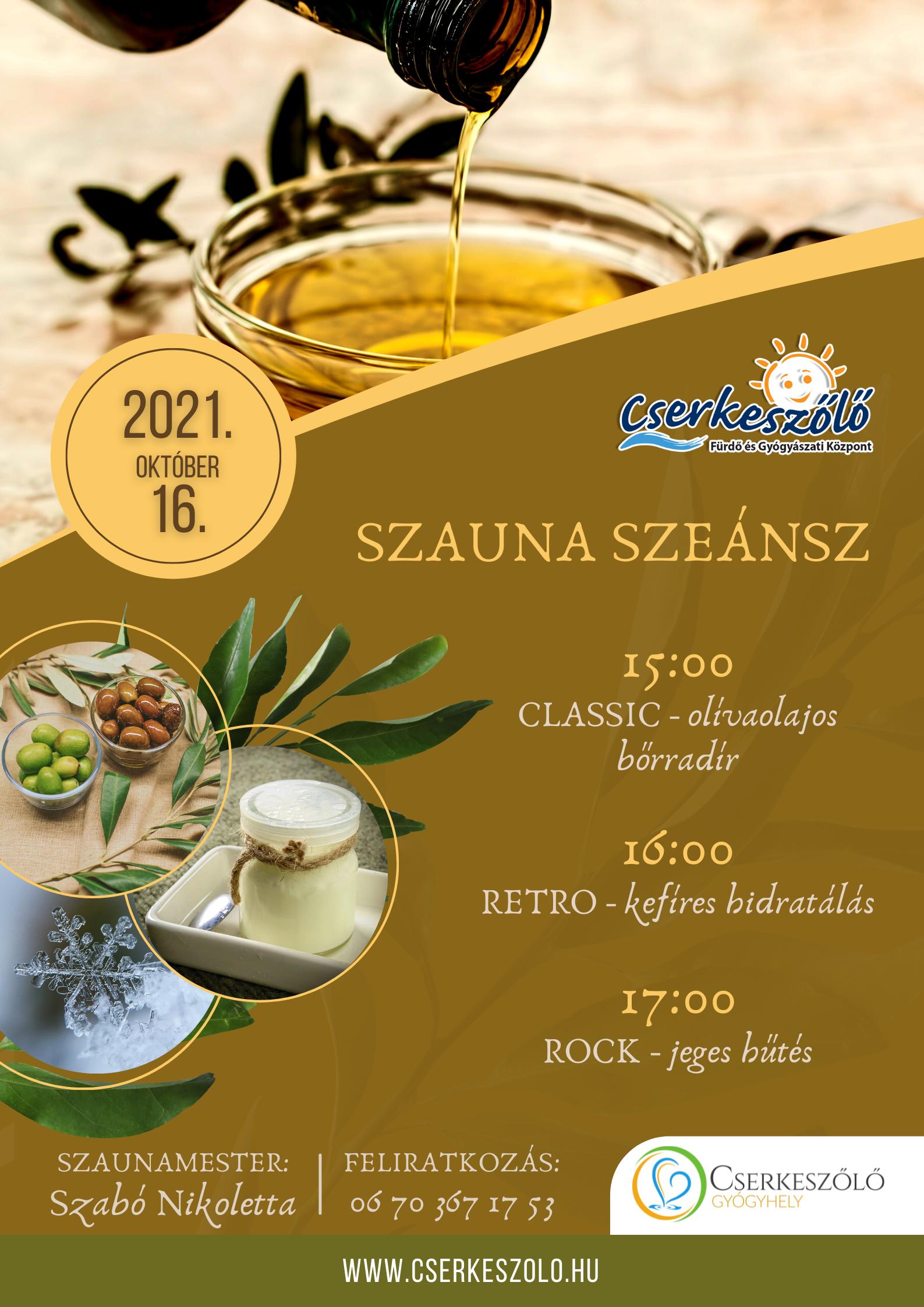 SZAUNA SZEÁNSZ