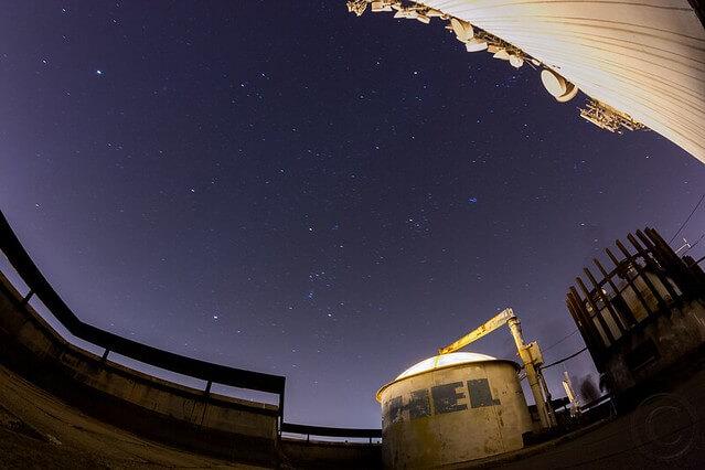 Hochhaus in Szolnok - Observatorium Urania