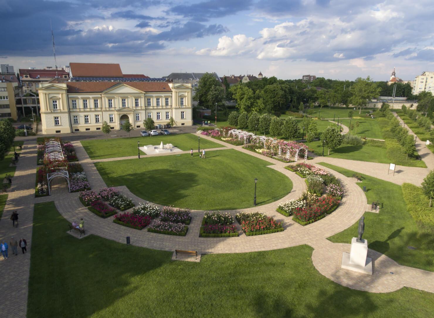 Rosarium – Garden of Hungarian Roses - Szolnok